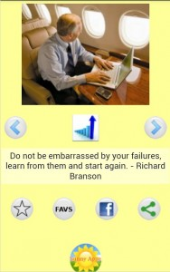 Successful Business Quotes Screenshot by Richard Branson