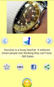 Successful Business Quotes Screenshot by Bill Gates