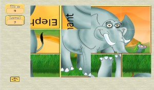 Kids Puzzle Game Africa Screenshot